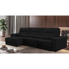 Sofa-Retratil-e-Reclinavel-6-Lugares-Preto-410m-Jacarta---Ambientada