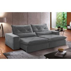 Sofa-Retratil-e-Reclinavel-4-Lugares-Cinza-250m-Delhi---Ambientada