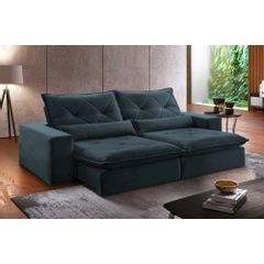Sofa-Retratil-e-Reclinavel-4-Lugares-Azul-270m-Delhi---Ambientada