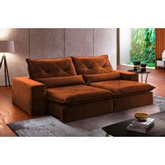 Sofa-Retratil-e-Reclinavel-4-Lugares-Ocre-270m-Delhi---Ambientada
