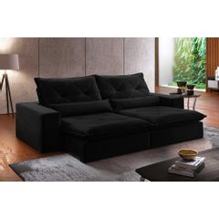 Sofa-Retratil-e-Reclinavel-4-Lugares-Preto-270m-Delhi---Ambientada