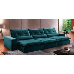 Sofa-Retratil-e-Reclinavel-6-Lugares-Esmeralda-410m-Delhi---Ambientada