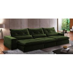 Sofa-Retratil-e-Reclinavel-6-Lugares-Verde-Escuro-410m-Delhi---Ambientada