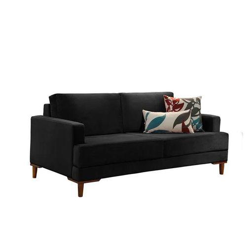 Sofa-2-Lugares-Preto-em-Veludo-153m-Lirio.jpg