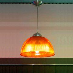 Pendente-Prismatico-em-Acrilico-32cm-Laranja-Neon-Skylux