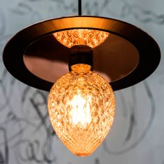 Lampada-Decorativa-Filamento-LED-Pinha-Ambar-G95-Toplux