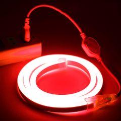 Mangueira-LED-NEON-FLEX-PRO-Vermelha-Conector-Tomada