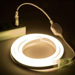 Mangueira-LED-NEON-FLEX-PRO-Branca-Fria-Conector-Tomada