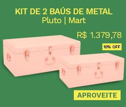 Kit de Baús de Metal