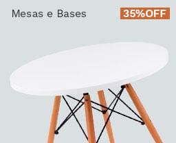 Mesas e Bases
