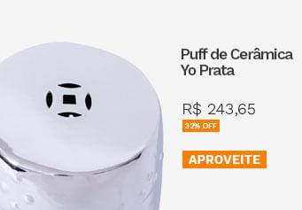 Puff de Cerâmica