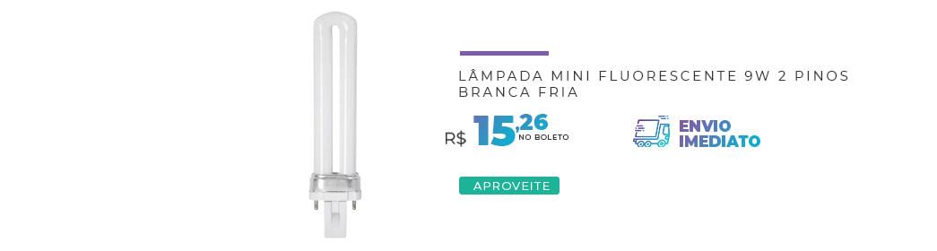 Fluorescente 9W
