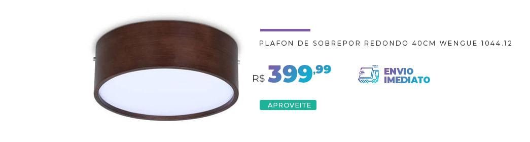 Plafon de Sobrepor Redondo 1044.12
