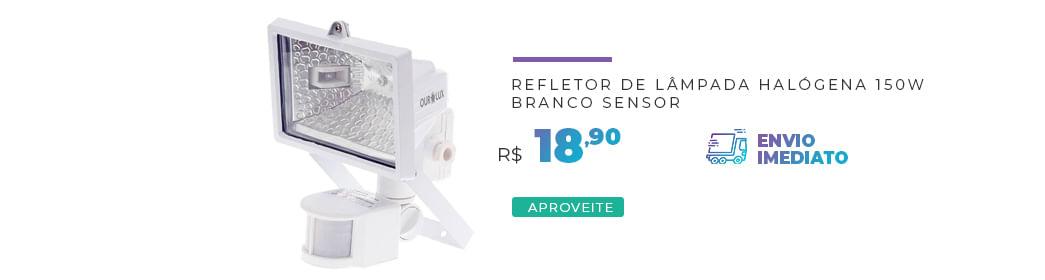 Refletor Branco Sensor